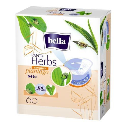 Tzmo Bella panty herbs plantago sensitive wkładki higieniczne x 60 sztuk