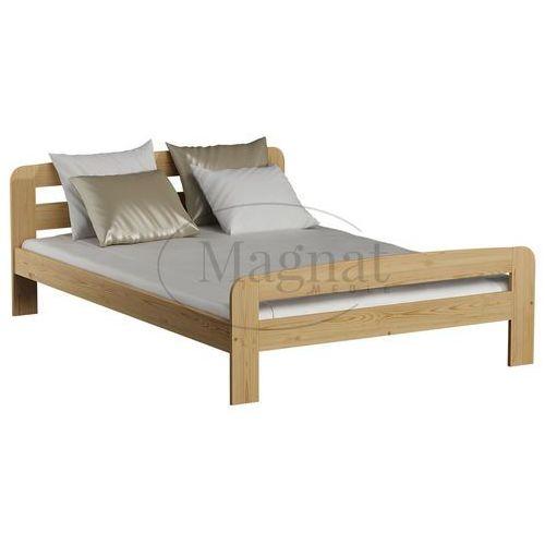 Łóżko sosnowe Klaudia 140x200