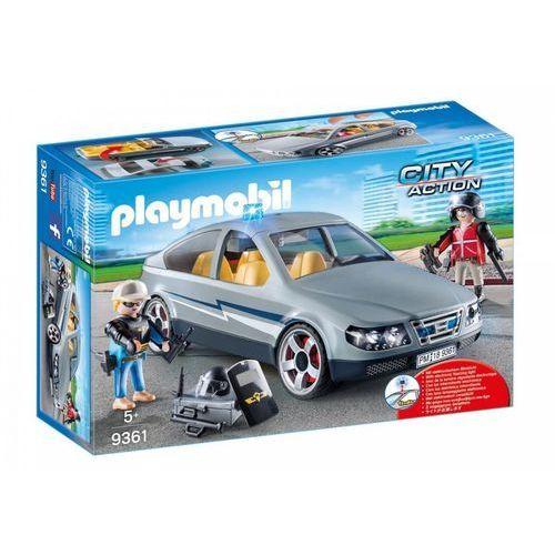 Playmobil ® City Action Pojazd cywilnz SEK 9361 - szary