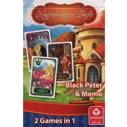 Karty do gry CARTAMUNDI Piotruś Memo Najpiękniejsze Bajki + Gwarancja dostawy przed Świętami!