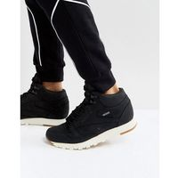 Reebok Classic Leather Mid GTX Trainers In Black BS7883 - Black