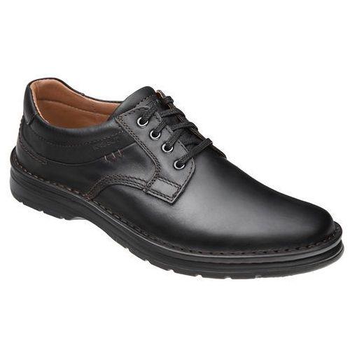 Półbuty sznurowane buty 4560-6-1 czarne - czarny marki Krisbut