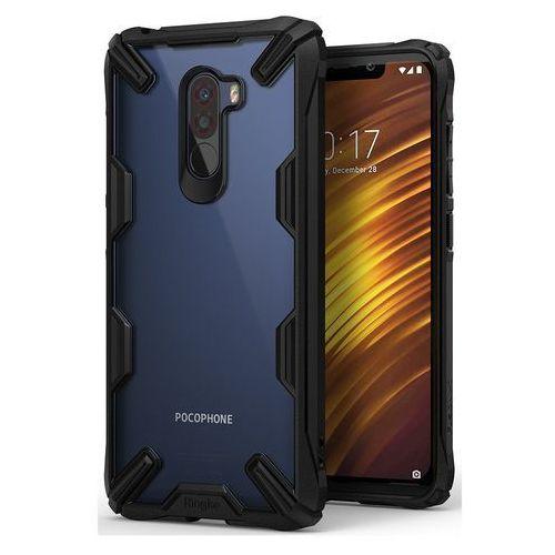 Ringke Fusion X etui pancerny pokrowiec z ramką Xiaomi Pocophone F1 czarny (FXXI0001) (8809628566613)