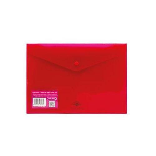 Teczka kopertowa a4 pozioma różowa marki Concord