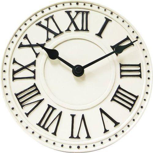 Zegar stołowy Nextime London Roman Table biały (5187 WI), 5187wi
