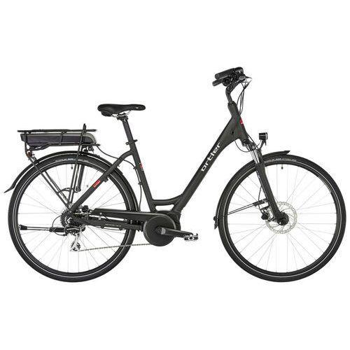 """bergen rower elektryczny trekkingowy czarny 50cm (28"""") 2018 rowery elektryczne marki Ortler"""