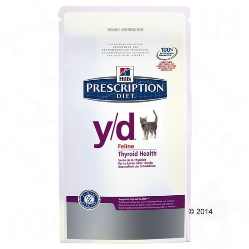 Hill´s prescription diet feline y/d - 2 x 5 kg marki Hills prescription diet