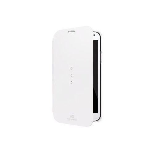 Etui WHITE DIAMONDS do Samsung S5 Mini Booklet Biały z kategorii Futerały i pokrowce do telefonów