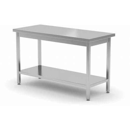 Stół Centralny z Półką | szer: 600-1900mm|gł. 800 mm