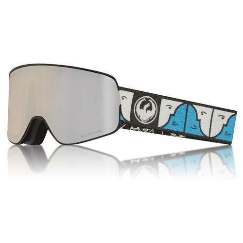 Dragon Gogle snowboardowe - nfx2 two forestbaileysig/silion+dksmk (346) rozmiar: os