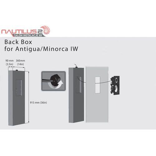 back box for antigua/minorca iw - dostawa 0zł! - raty 30x0% lub rabat! marki Cabasse