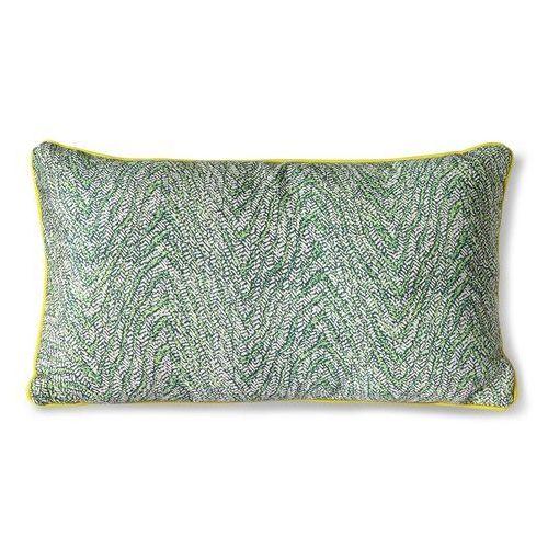 Hkliving poduszka z nadrukiem zielona (35x60) tku2123