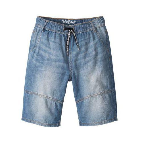 Bermudy dżinsowe niebieski