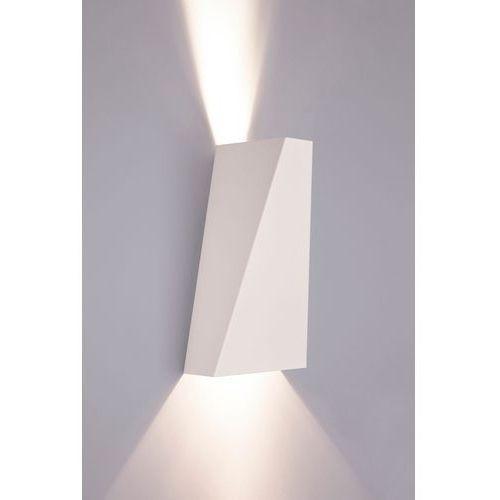 Minimalistyczny kinkiet ścienny biały Nowodvorski Narwik White 2x35W GU10 biały 9702, 9702