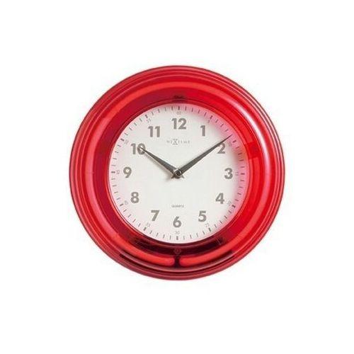 Nextime Zegar ścienny 2771 ro neon śr. 28cm (8717545052785)