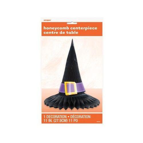 Dekoracja stołu kapelusz wiedźmy - 1 szt. marki Unique