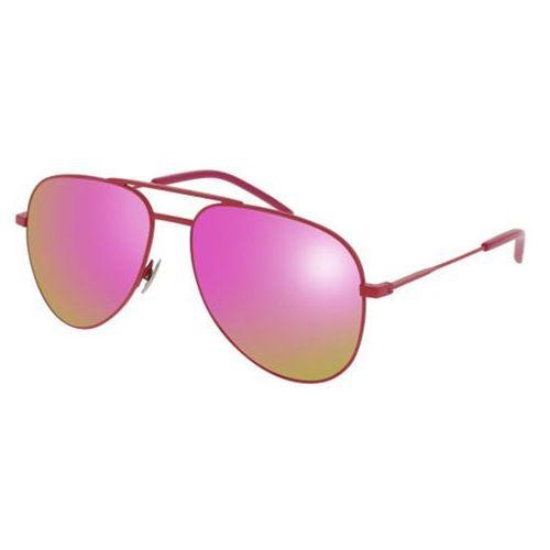 Okulary słoneczne classic 11 rainbow 004 marki Saint laurent