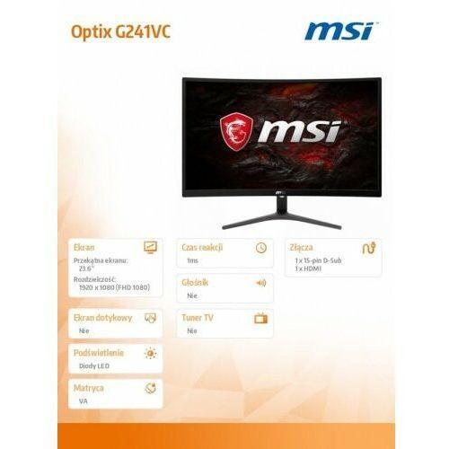 OKAZJA - LED MSI G241VC