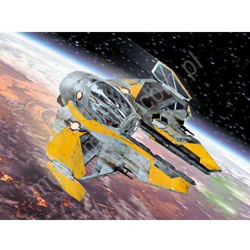 Revell  1:58 anakin's jedi starfighter - lekki myśliwiec z fantastyki star wars (03606) - szybka wysyłka (od 49 zł gratis!) / odbiór: łomiank