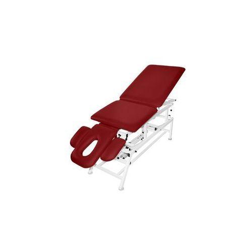 Stół rehabilitacyjny 5-cz. elektryczny master 5e-fp z funkcją pivot i fotela marki Bardo-med