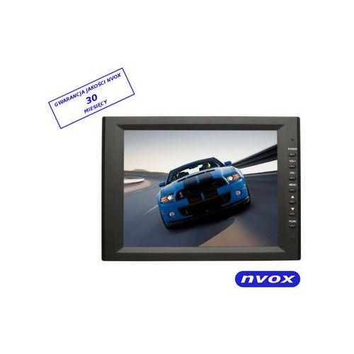 """NVOX 104 VGA monitor samochodowy lub wolnostojący LCD 10"""" cali VGA 12V 230V (5901867720511)"""