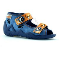 Befado Kapcie dla dzieci 250p056 snake - niebieski ||pomarańczowy