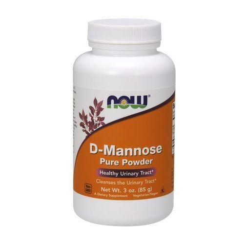 Proszek Now Foods D-Mannoza proszek 85g