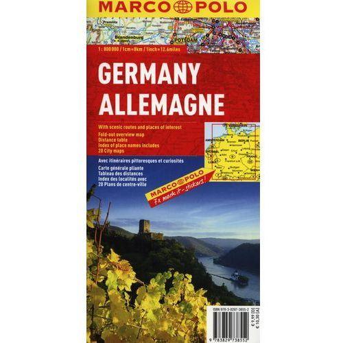 Niemcy mapa 1:800 000 Marco Polo, pozycja wydawnicza