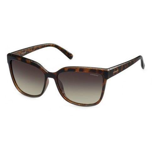 Okulary przeciwsłoneczne damskie POLAROID - 247863-43, kolor żółty