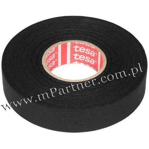 Taśma izolacyjna Tesa 51026 parciana olejoodporna 19mm 25m
