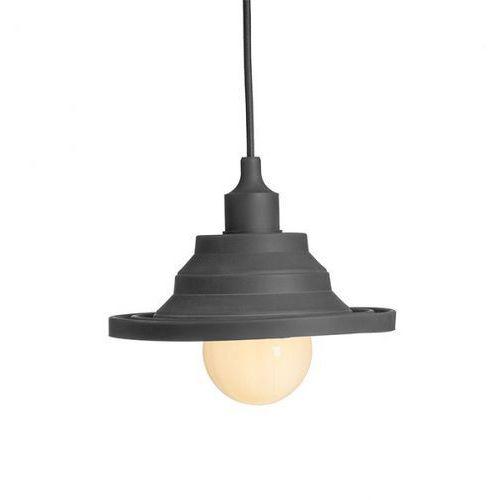 Lampa wisząca amici silikonowa czarna, r10621 marki Redlux