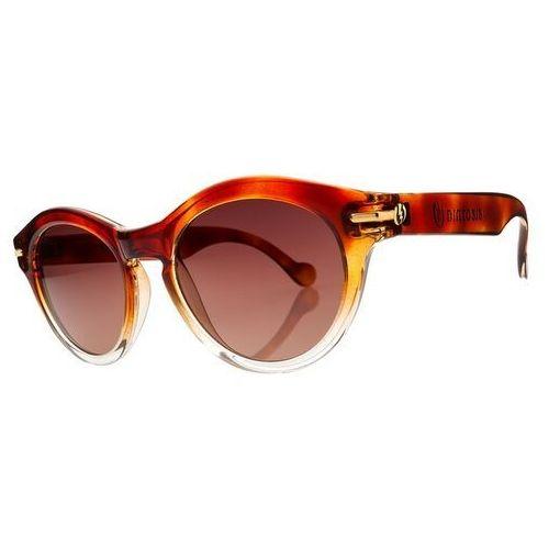 Okulary słoneczne - potion brulee/brown gradient + case (brulee) marki Electric