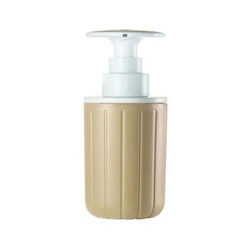 Guzzini - tidy & clean - dozownik do mydła i płynu, brązowy - brązowy