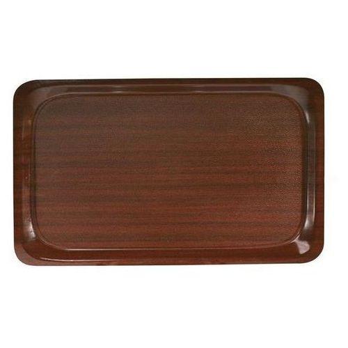Taca antypoślizgowa drewniana   różne wymiary   430 - 610mm marki Hendi