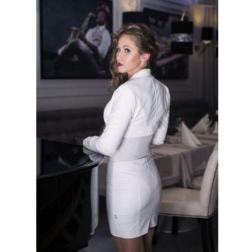 1 Victoria mini-spódniczka biała PROMO