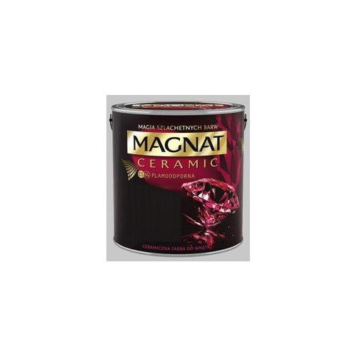Farba Ceramiczna Magnat Ceramic C30 Srebrzysty Grafit 5l, 1196-05000-00437-0
