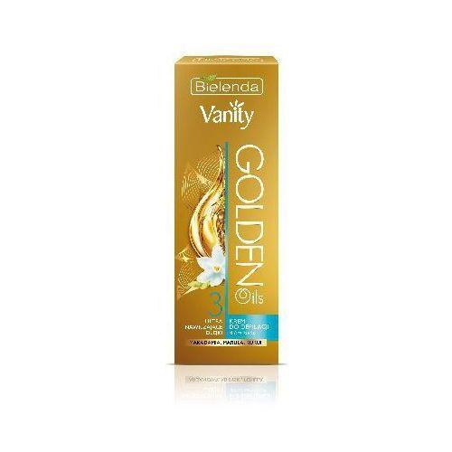 Bielenda vanity golden oils krem do depilacji ultra nawilżający 100ml - bielenda od 24,99zł darmowa dostawa kiosk ruchu (5902169016814)