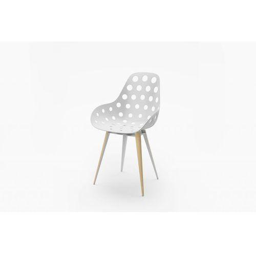 Kubikoff Krzesło SLICE DIMPLE HOLES SLICEDIMPLEHOLES, SLICEDIMPLEHOLES