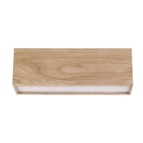 Sigma Plafon lampa sufitowa futura wood 32687 drewniana oprawa led 5w listwa belka dąb (5902335268405)