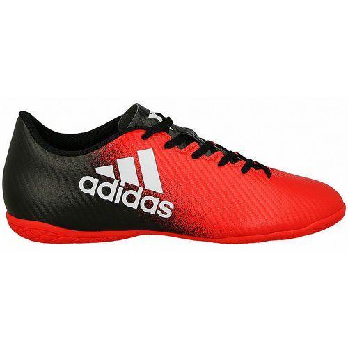 Adidas Buty do piłki nożnej  x 16.4 in (bb5734) - czerwony/czarny