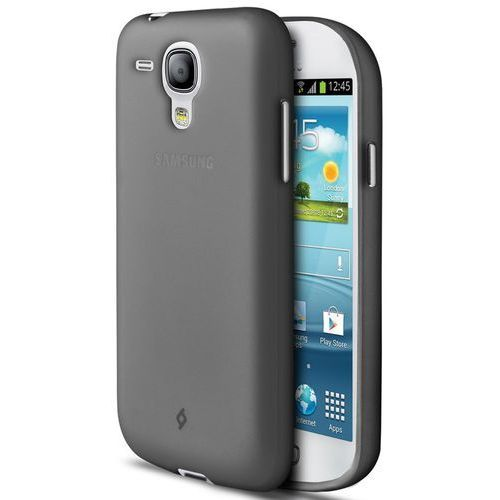 Etui Smooth do Samsung Galaxy S3 mini, szare (2PNA243G), kolor szary