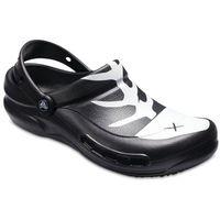 klapki bistro graphic black/white/black, 39,5 marki Crocs