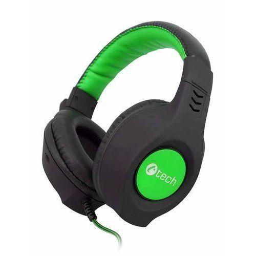 C-Tech słuchawki Nemesis V2 (GHS-14G), czarno-zielone - BEZPŁATNY ODBIÓR: WROCŁAW!