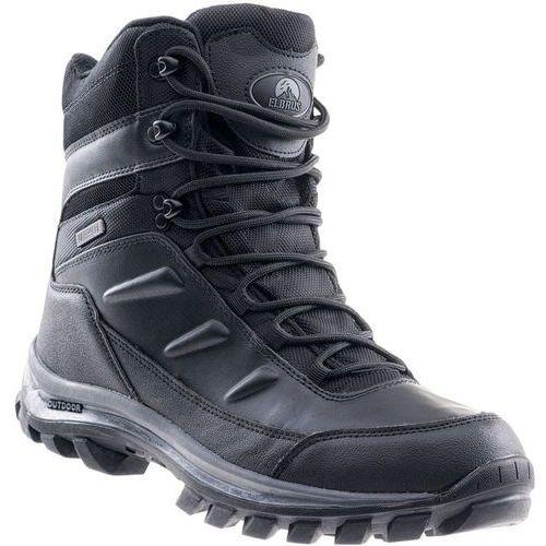 ELBRUS buty turystyczne męskie Spike Mid Wp Black/Dark Grey 43