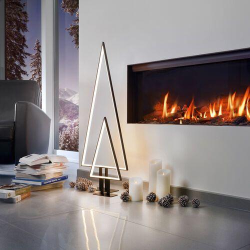 Ekstrawagancka lampa dekoracyjna LED Pine, czarna (4029599074236)