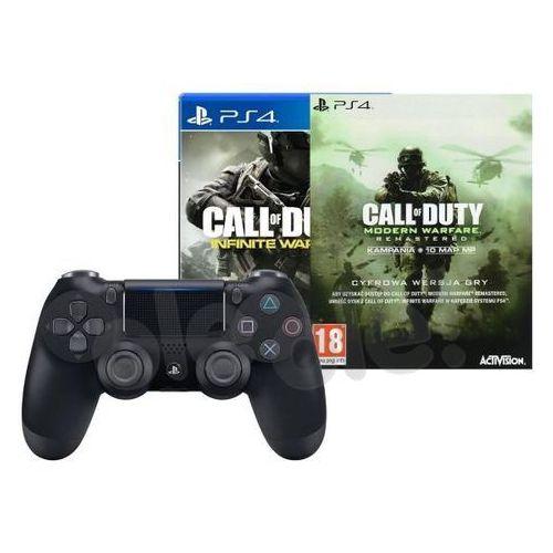 Sony dualshock 4 v2 (czarny) + 2 gry - produkt w magazynie - szybka wysyłka! (0000001138642)