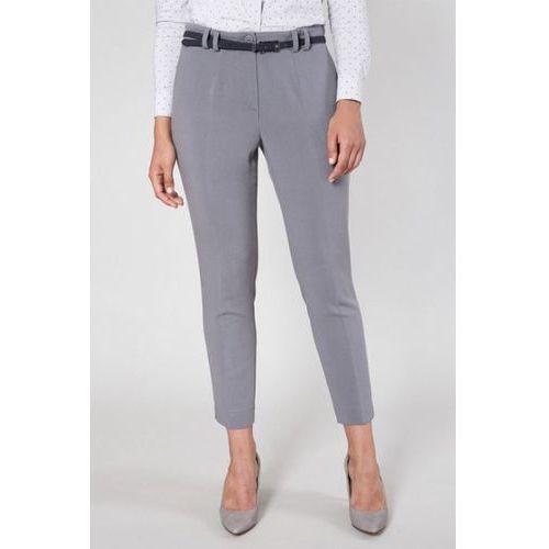 Spodnie damskie model andes 9586 grey, Click fashion
