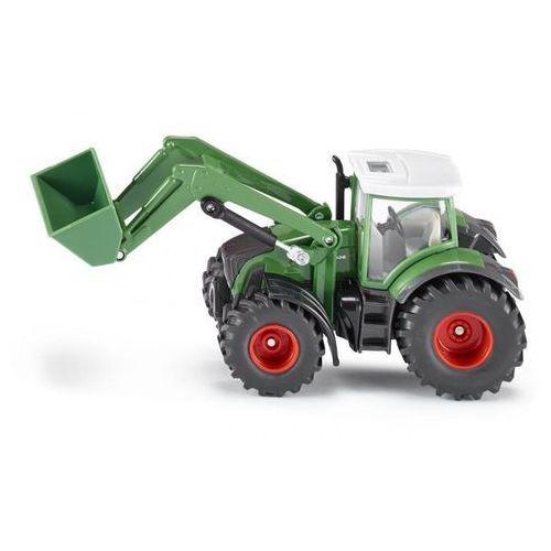 Siku Zabawka farmer traktor fendt z przednią ładowarką