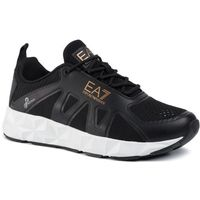 Ea7 emporio armani Sneakersy - x8x034 xk061 a687 black/bronze