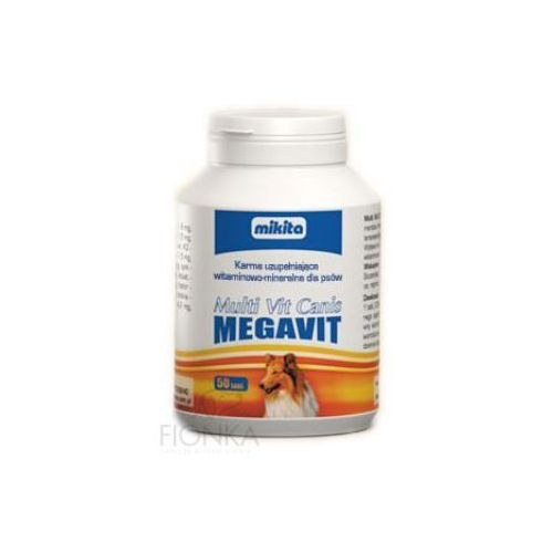 MIKITA Megavit Multi Vit Canis preparat witaminowo-mineralny dla psów